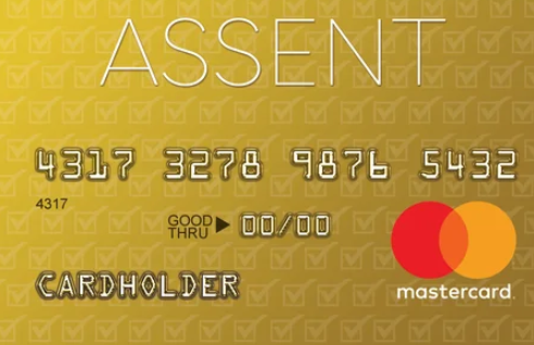 Assent Platinum Mastercard Application