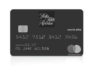 Saks credit card