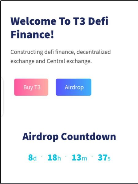 T3coins Airdrop